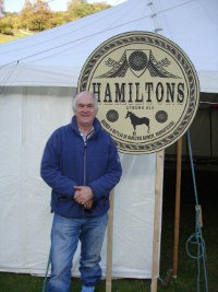 Glyn at Llanthony Show and Country Fair