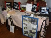 Gwarchodstud Wedding fayre display